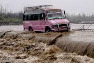 Floods hit Kashmir