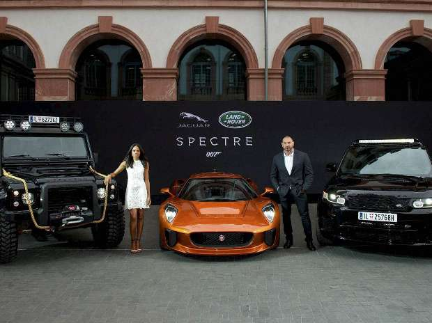 Frankfurt, Bentley, Jaguar, Spectre