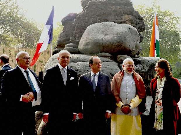 Narendra Modi, Francois Hollande, India, France