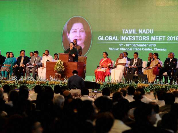 Global Investors Meet, Jayalalitha, Trade Center, TVS