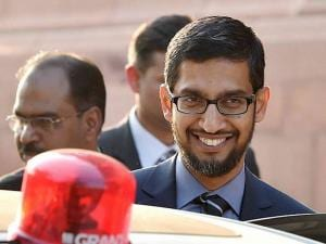 Google CEO Sundar Pichai visits India