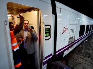 High speed Talgo train arrives in Mumbai
