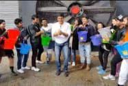 Akshay Kumar takes the ice bucket challenge