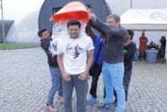 Riteish Deshmukh takes the ice bucket challenge