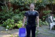 Zuckerberg takes the ice bucket challenge