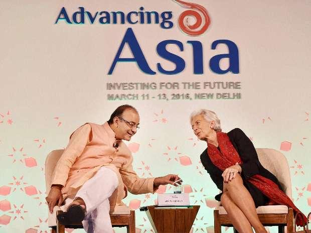 Christine Lagarde, Jayant Sinha, IMF, Arun Jaitley