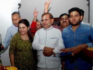 In pictures: The victory of Mahagathbandhan