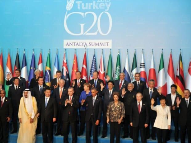G20, Narendra Modi, Angela Merkel, Barack Obama