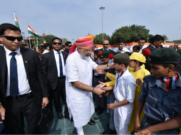 70th Independence Day, Narendra Modi, New Delhi, Venkaiah Naidu