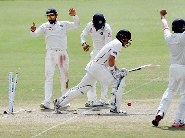 India, New Zealand, Test match, Cricket