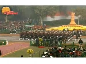 India celebrates 67th Republic Day