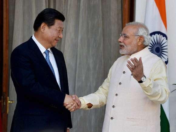 Xi Jinping, Narendra modi, Pranab Mukherjee, Sushma Swaraj
