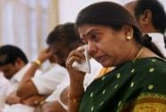 Emotionally overwhelmed AIADMK leaders