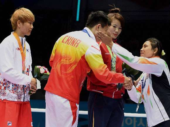 Mary Kom, Boxing, Sarita Devi, Asian Games