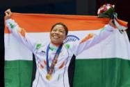 Mary Kom wins gold in Boxing