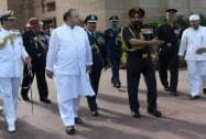 Jaitley with the Chief of Army Staff