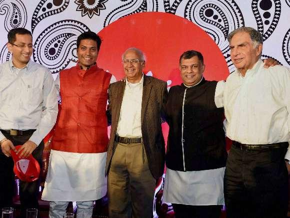 Ratan Tata, Air Asia, Tony Fenandes, Emeritus, S. Ramadorai, Mittu Chandilya