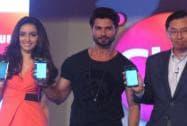 Shraddha, Shahid at the launch of Club Samsung 2.0