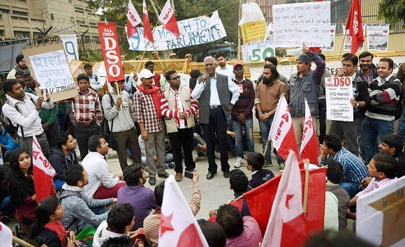 UGC, Protest, Students