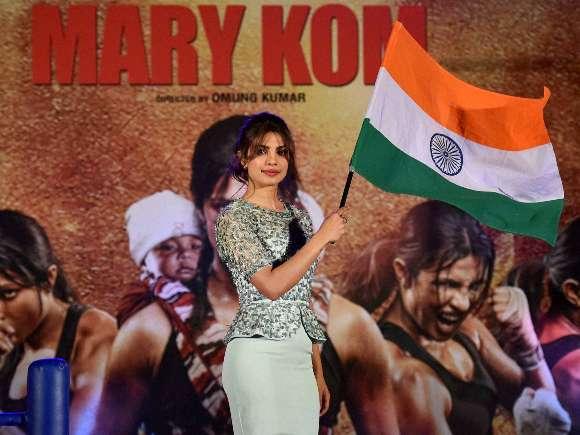 Priyanka Chopra, Mary Kom, Sanjay Leela Bhansali, Boxing