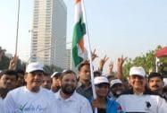Modi flags off 'Run for Unity'