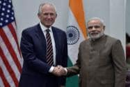 Modi with Boeing CEO, McNerney