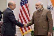 Modi with Lloyd Blankfein