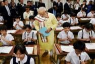 Modi interacts with students
