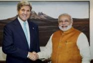 Modi with John Kerry