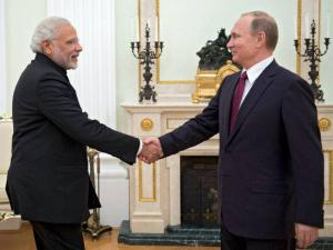 Modi on a two-day visit to Russia