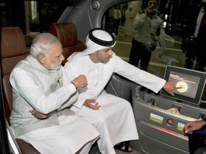 Modi's visit to Abu Dhabi
