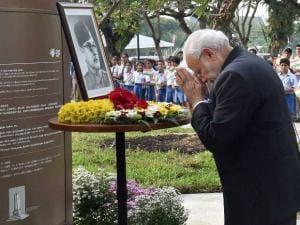 Modi's visit to Singapore
