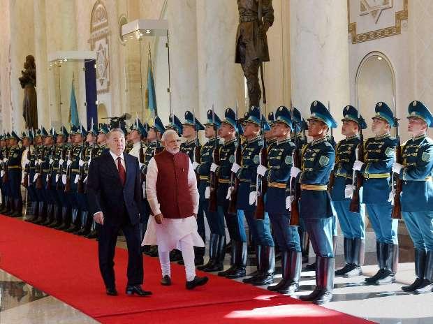 Narendra Modi, Kazakhstan, India, Nursultan Nazarbayev