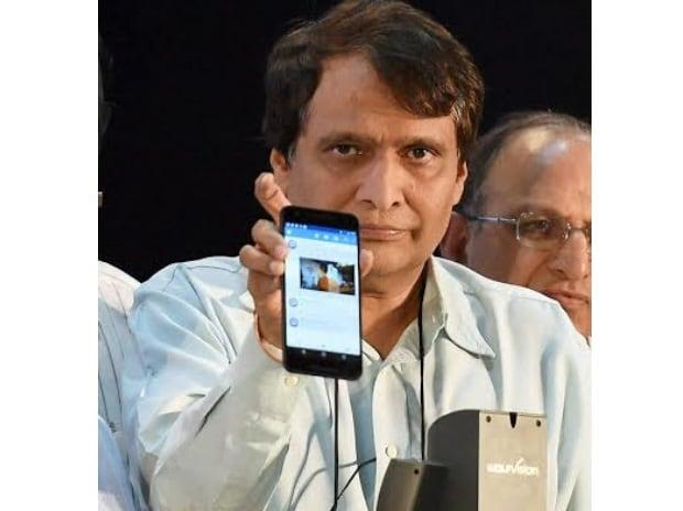 Wi-fi, Google, Suresh Prabhu, Railways