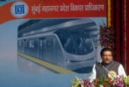 Mumbai metro: Stone laying ceremony