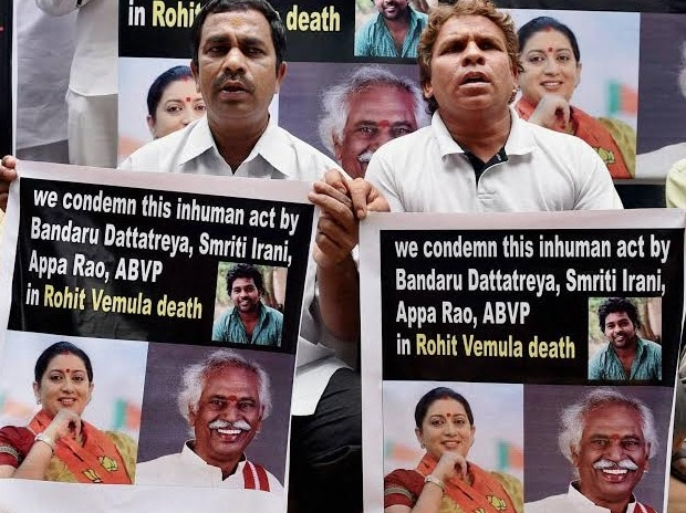 Rohith Vemula, Protest, Youth Congress, Dalit
