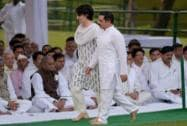 Priyanka Vadra and Robert Vadra at Vir Bhoomi