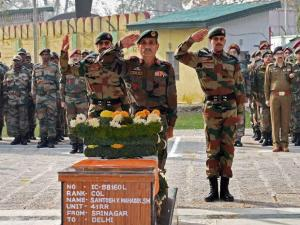 Nation salutes martyr Colonel Santosh Mahadik