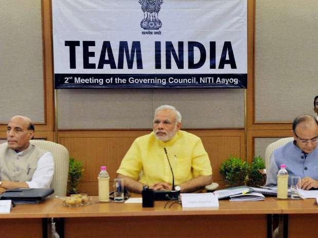 Narendra Modi, NITI Aayog, Land Bill, Rajnath Singh
