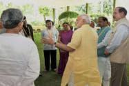 Niti Aayog meet: Land Bill discussed