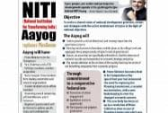NITI Aayog: The new think tank