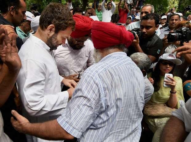 OROP, Rahul Gandhi, Jantar Mantar, Ex-servicemen