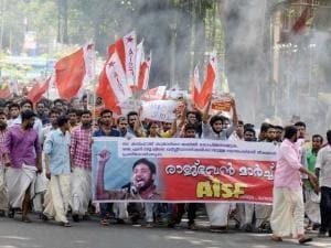 Outrage over JNU row