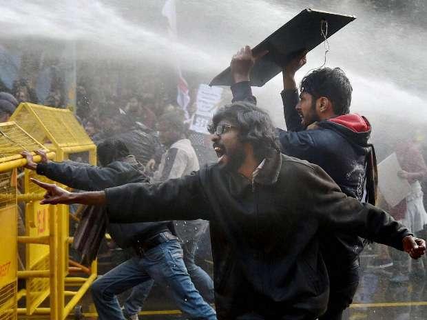 Rohith Vemula, Dalit, Hyderabad University, Protest