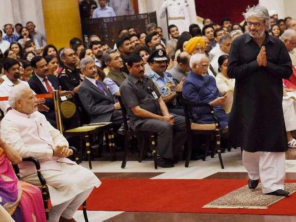 Pranab Mukherjee, Padma Awards, Rashtrapati Bhavan, Sanjay Leela Bhansali