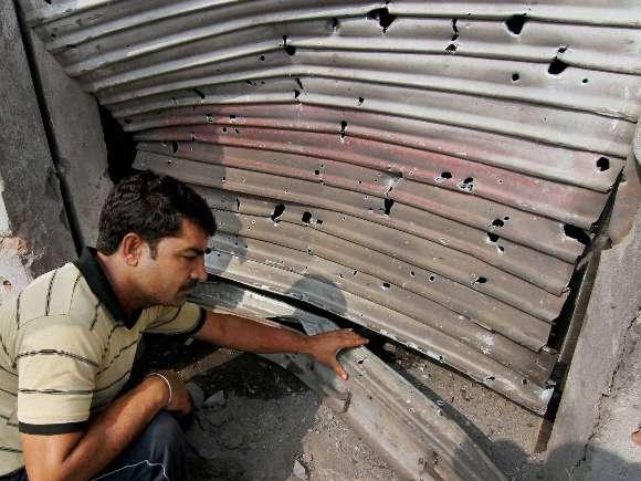 Jammu, Arnia sector, Pakistan, Firing