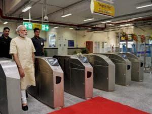 PM launches Delhi Metro's Faridabad corridor