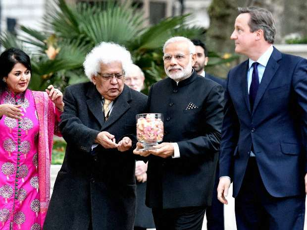 Narendra Modi, UK, India, David Cameron