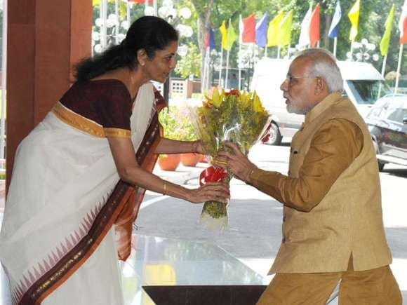Narendra Modi, Make in India, Nirmala Sitharaman, PM