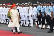 Modi inspects guard of honour